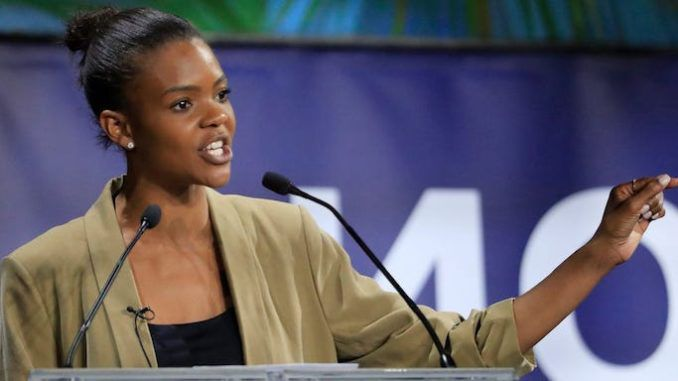 """The """"arrogant Left"""" has created """"mob rule"""" by """"bullying every celebrity"""" into virtue-signaling acceptable left-wing positions, according to Candace Owens, who warns the ploy will backfire in the election because """"the mob doesn't step into the voting booth with you."""""""