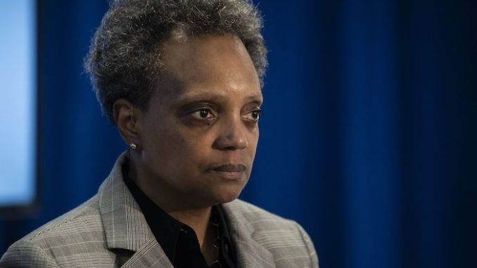 Chicago's far-left mayor Lori Lightfoot has ordered Chicagoans not to use guns to defend themselves even though the city has descended into lawlessness and chaos in recent weeks under her leadership.