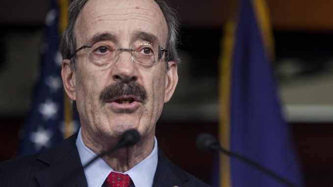"""Rep. Eliot Engel (D-NY) was caught on a hot mic at a protest in the Bronx, New York, admitting """"If I didn't have a primary, I wouldn't care."""""""