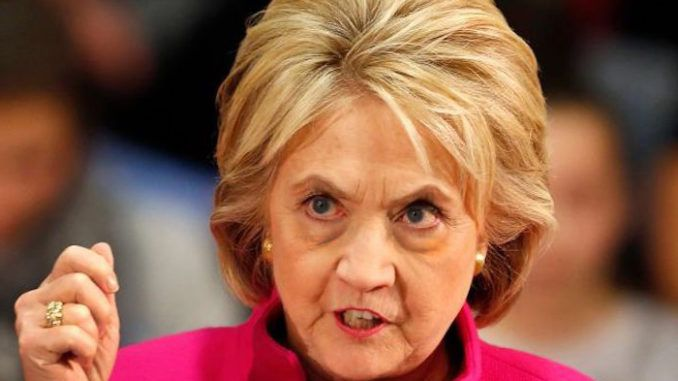 Hillary Clinton accuses President Trump of trying to hijack Christianity