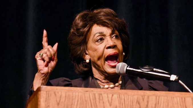 Rep. Maxine Waters (D-CA) claims protestors are creating social change where legislation and prayer have failed — and you should be thanking them.