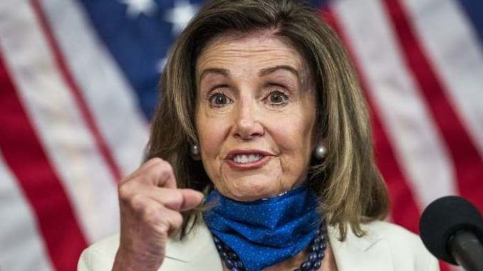 Nancy Pelosi revives Russia hoax and says Russians must have dirt on Trump