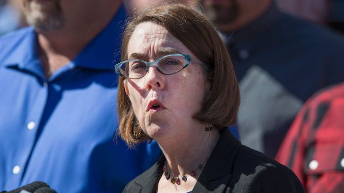 Oregon Gov. Katie Brown praises rioters while taking churches to court over coronavirus order