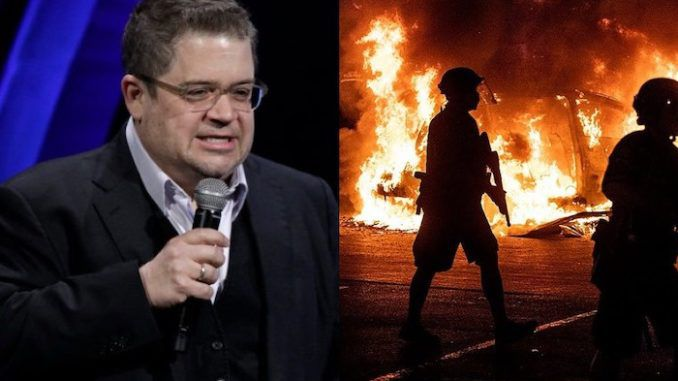 Hollywood actor Patton Oswalt compares domestic terrorists to U.S. troops who landed at Normandy