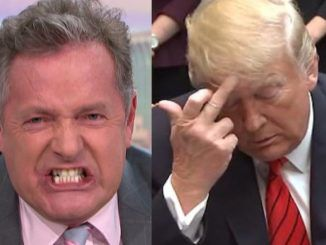 Piers Morgan demands Trump take a knee in the oval office