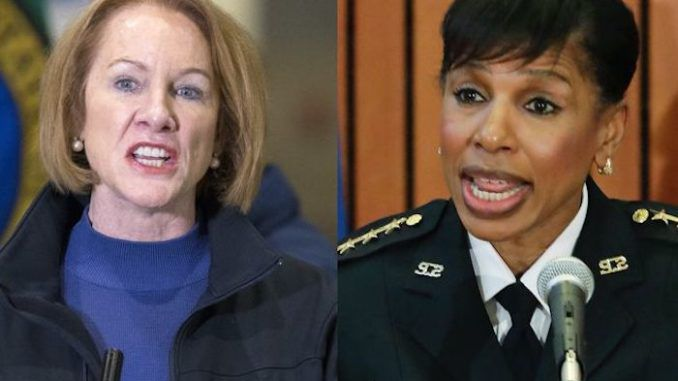 Seattle police chief puts mayor on blast, warning cops can't respond to rapes in CHAZ