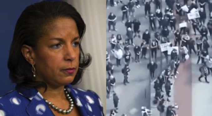 Susan Rice claims Russia could be responsible for funding far-left riots across USA