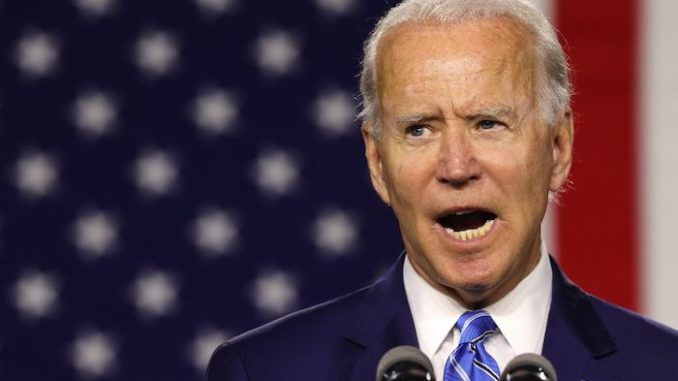 Biden says Trump is about to steal the election