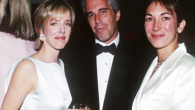 A British aristocrat and frequent flyer on Jeffrey Epstein's 'Lolita Express', and who stands accused of sexually abusing one of Epstein's alleged victims, has stepped down from her role with the UK's National Society for the Prevention of Cruelty to Children (NSPCC).