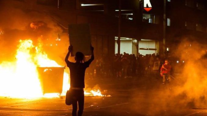 "White House Press Secretary Kayleigh McEnany announced the DOJ and FBI have hundreds of live cases holding ""anarchists"" and leftists accountable for the widespread rioting, looting, vandalism, arson and terror across America."