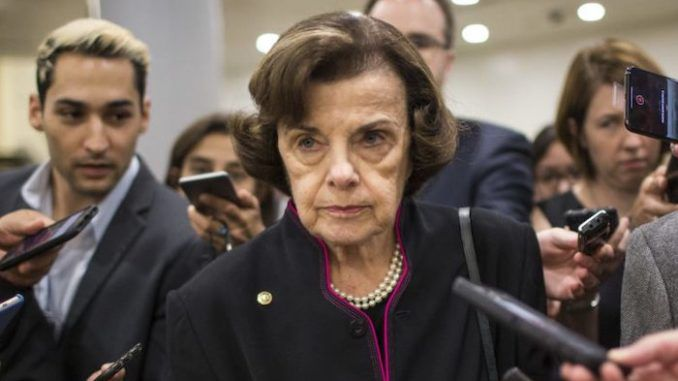 Dianne Feinstein wants to withhold coronavirus relief from states without mask mandates