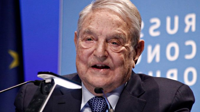 George Soros doubles down on taking out Trump this November 2020
