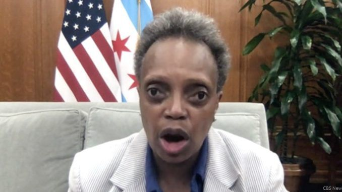 Lori Lightfoot promises to sue President Trump if federal agents step out of line in Chicago