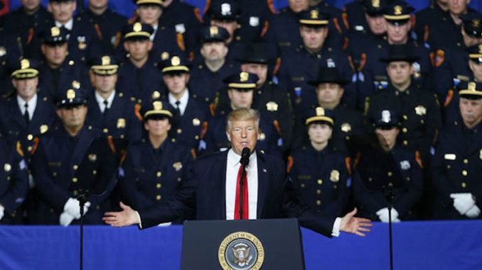 The National Association of Police Organizations endorses Trump for president