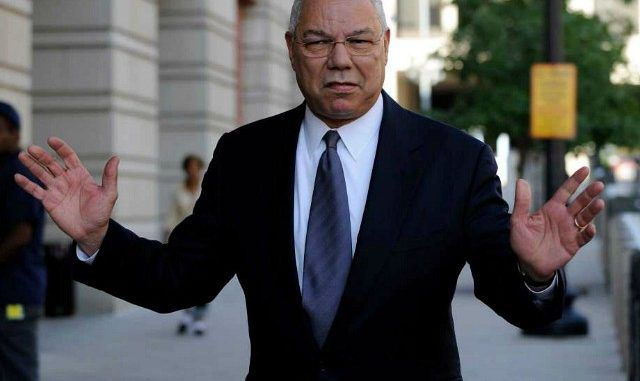 Colin Powell Confederate named bases