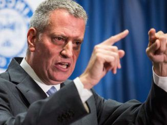 New York City Mayor Bill de Blasio told CNN he is banning all large gatherings in the city except for Black Lives Matter protests.