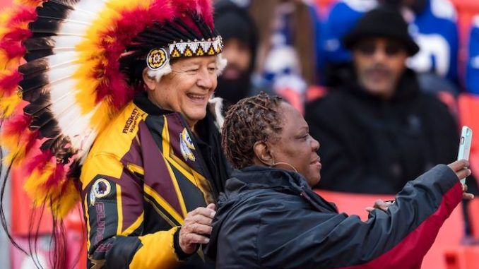 """Leftists have been up in arms about the Washington Redskins' name for years, but polls suggest that the majority of Native Americans are not offended by the name, with many actually feeling """"pride."""""""