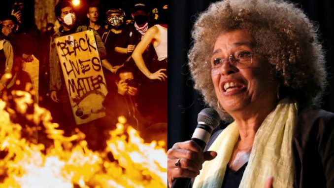Marxist leader Angela Davis admits BLM riots are rehearsals for U.S. revolution