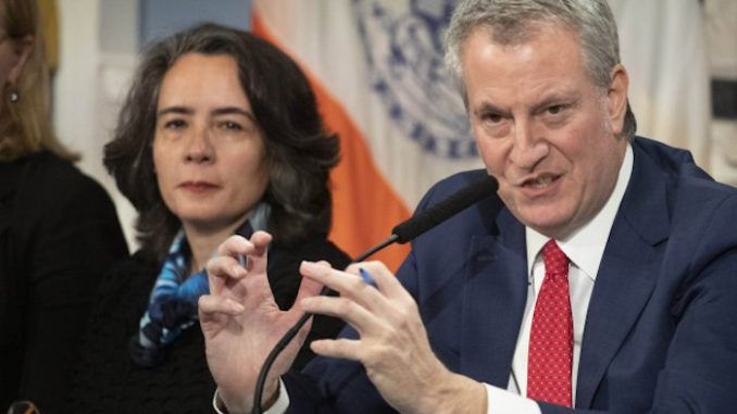 Mayor De Blasio sets up quarantine checkpoints throughout New York City