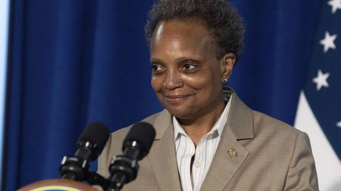 Chicago Mayor Lori Lightfoot defends looters, arguing that they are just frustrated over President Trump's coronavirus response