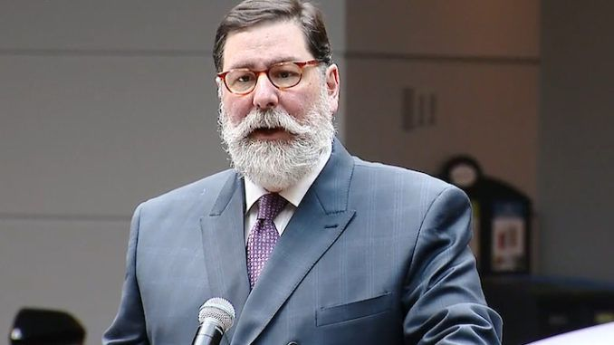 Pittsburgh Democrat Mayor Bill Peduto says protests outside his home cross a line