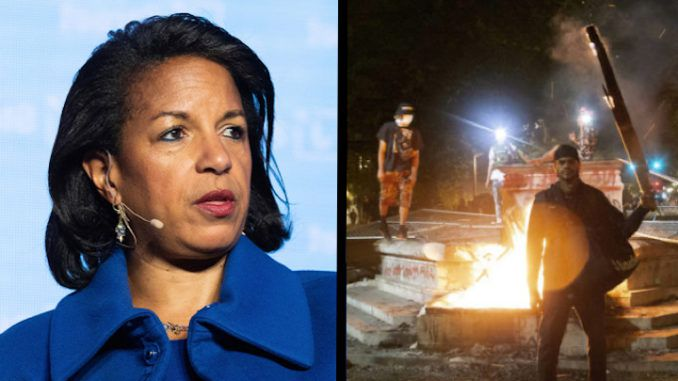 Susan Rice says President Trump is sending troops to attack peaceful protestors