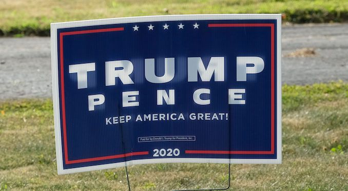 Deranged Colorado woman punches boy in the back of the head over Trump yard signage