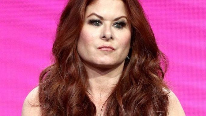 Actress Debra Messing calls President Trump a pedophile rapist