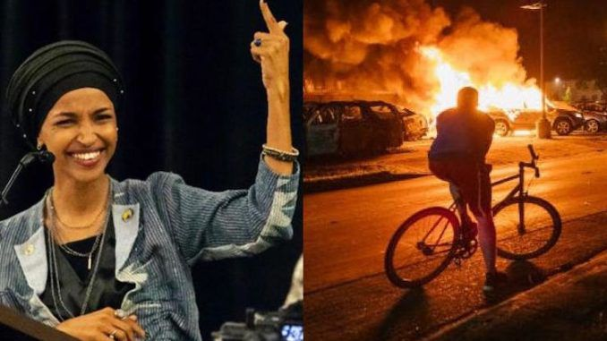 Rep. Ilhan Omar says riots are result of centuries of racial oppression
