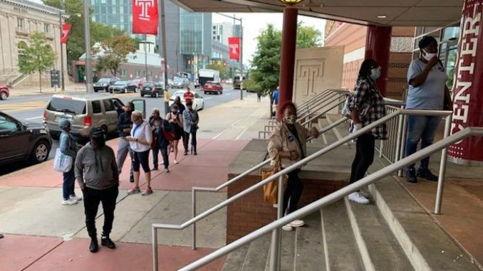 Trump observers are being blocked entry to satellite voting locations in Philadelphia