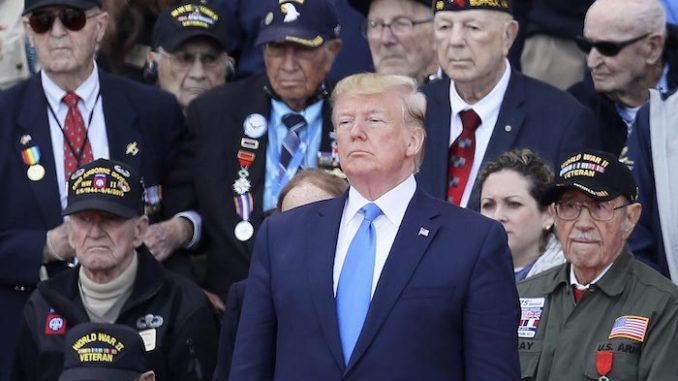 700 vets issue open letter in support of President Donald Trump