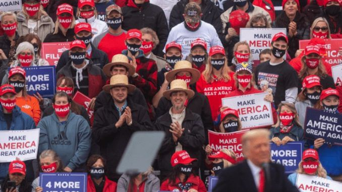 Amish voters come out in droves to support President Trump's reelection