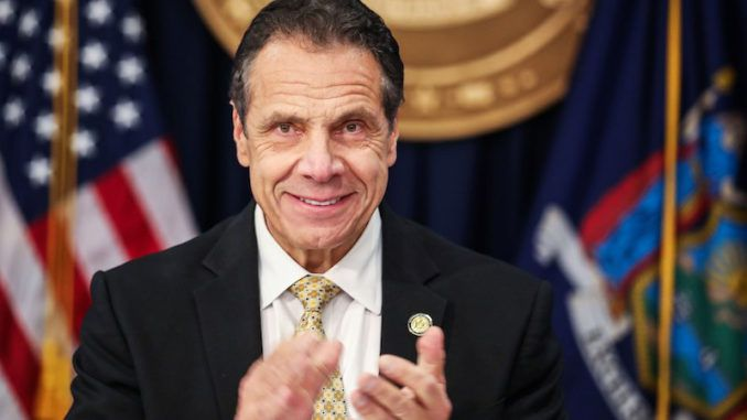 Andrew Cuomo claims nursing home scandal never happened