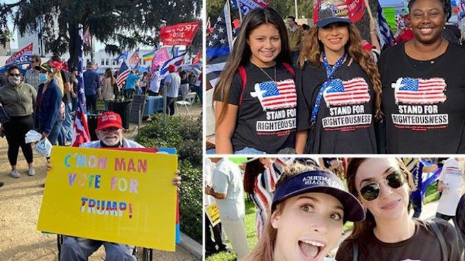 Thousands turn out for MAGA rally in Beverly Hills in support of Trump
