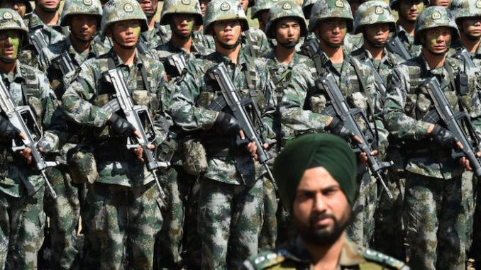 China mobilizes 60,000 troops to Indian border due to serious threat