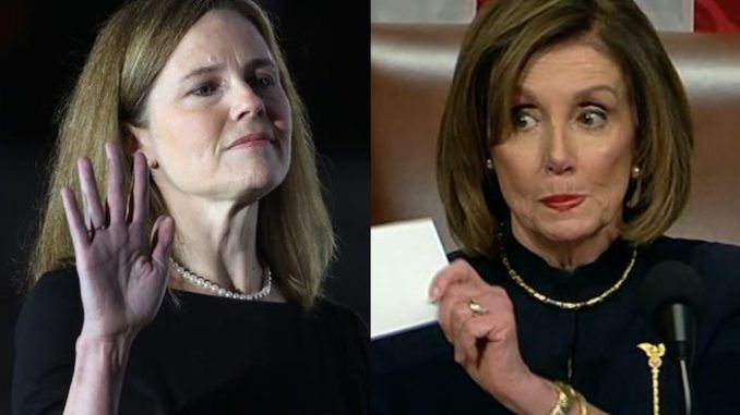 Democrats now considering impeaching Justice Amy Coney Barrett