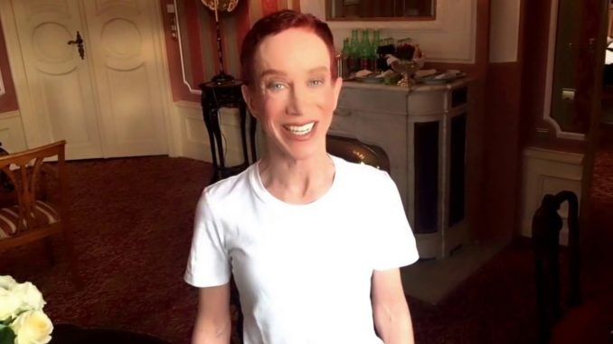 Kathy Griffin says she is waiting for Trump's coma to commence