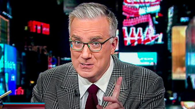Keith Olbermann calls Trump supporters maggots