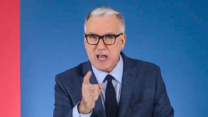 Keith Olbermann says Trump supporters must be prosecuted and removed from our society