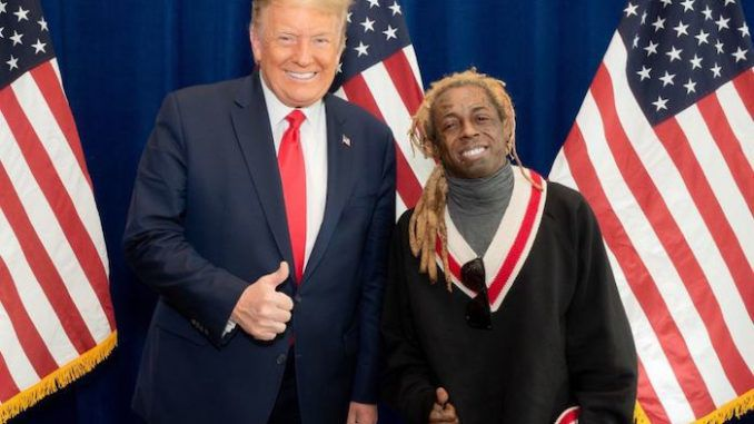 Racists spew racist hate after Lil Wayne endorses President Donald Trump