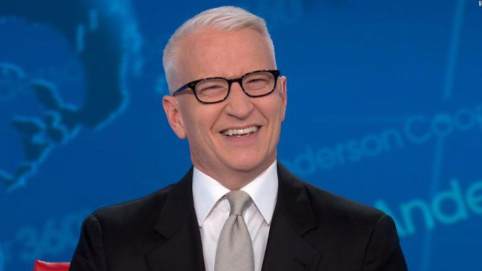 Anderson Cooper compares President Donald Trump to a fat turtle flailing in the hot sun