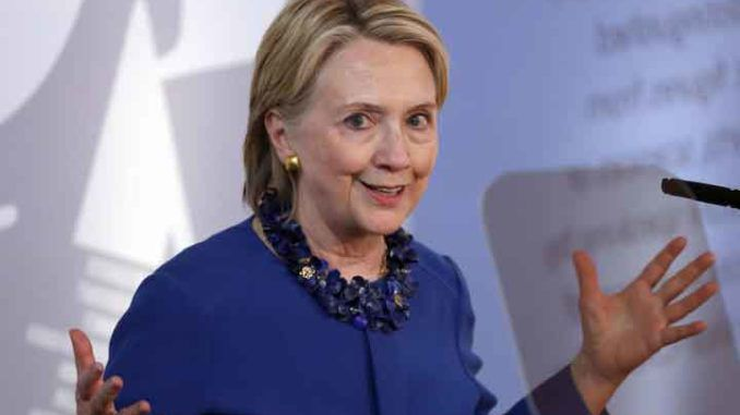 Hillary Clinton says she's feeling much better at prospect of Trump defeat