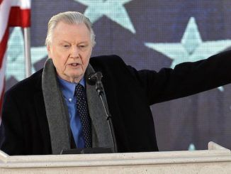 Jon Voight declares President Trump is the only man who can save this great nation