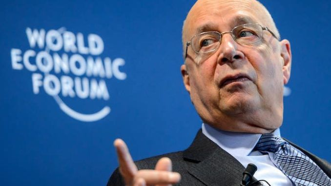 Klaus Schwab admits the great reset will lead to transhumanism