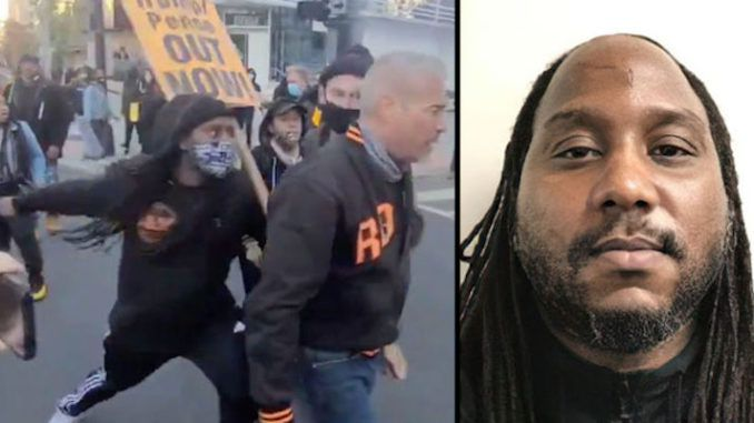 BLM protestor who sucker-punched Trump supporter is a convicted pedophile