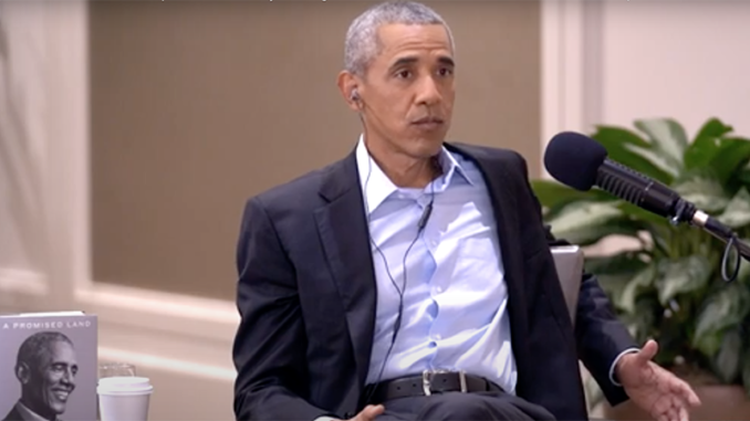 Obama blames Trump for his own border cage policy