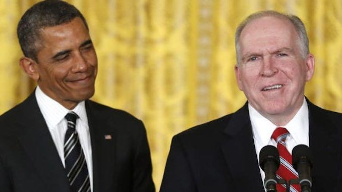 Obama's CIA chief John Brennan urges coup against Trump to stop him declassifying stuff