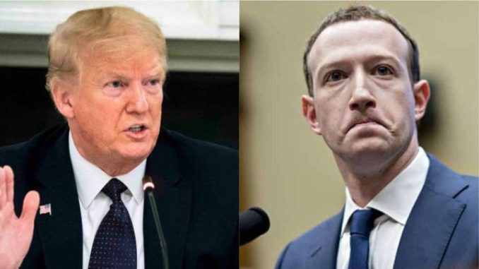 President Trump says Big Tech immunities must end immediately for national security reasons