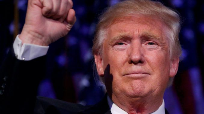 Donald Trump says he is confident of a 2020 election victory