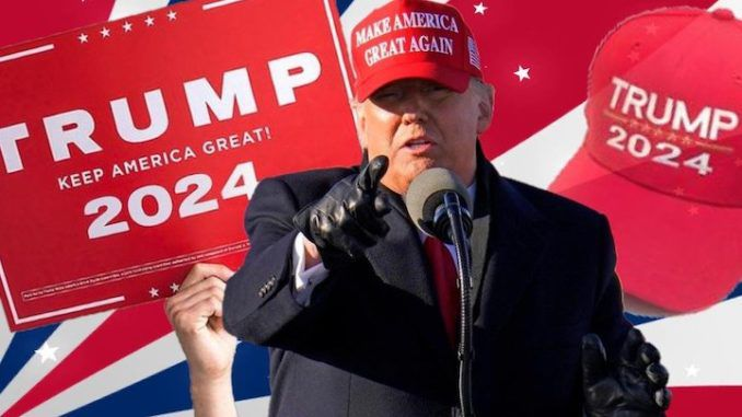 53 percent of Americans would vote for Trump in 2024 election